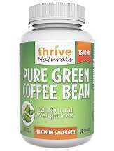 Thrive Naturals Pure Green Coffee Bean Review